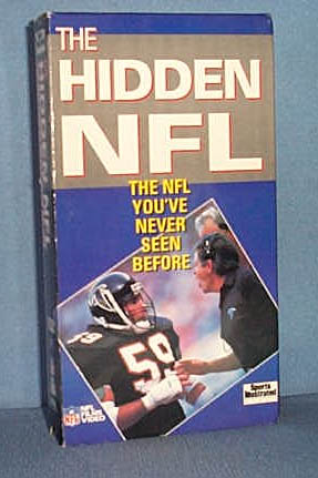 The Hidden NFL: The NFL You've Never Seen Before video cassette tape