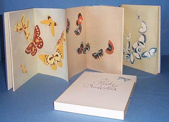 A Flight of Butterflies cased volume