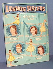 Lennon Sisters cut-out dolls