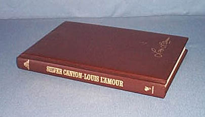 Silver Canyon by Louis L'Amour Bantam Hardcover Edition