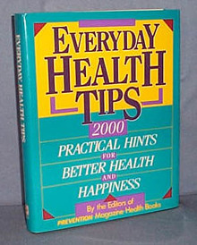 Everyday Health Tips by the Editors of Prevention Magazine Health Books