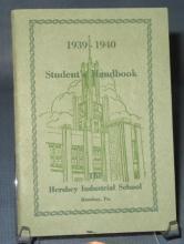 1939-1940 Hershey Industrial School Student's Handbook