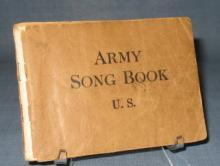 1918 U. S. Army Song Book