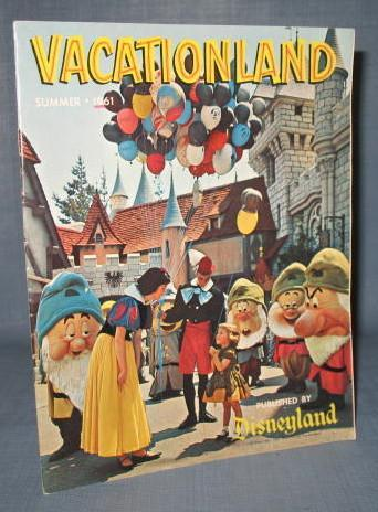 Vacationland, Summer, 1961 published by Disneyland