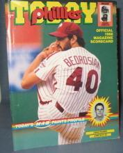 Phillies Today : Official 1988 Magazine Scorecard, June 20, 21, 22 versus Chicago Cubs