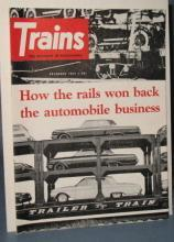 Trains : The Magazine of Railroading, December 1962