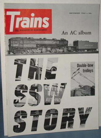 Trains : The Magazine of Railroading, November 1962