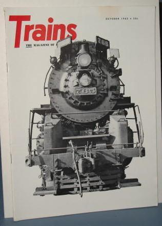 Trains : The Magazine of Railroading, October 1962
