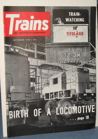 Trains : The Magazine of Railroading, September 1962