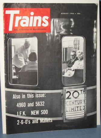 Trains : The Magazine of Railroading, August 1962