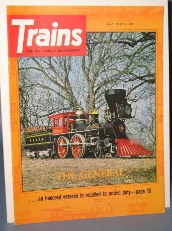 Trains : The Magazine of Railroading, July 1962