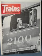 Trains : The Magazine of Railroading, June 1962