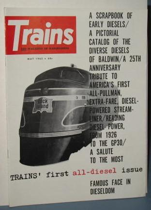 Trains : The Magazine of Railroading, May 1962