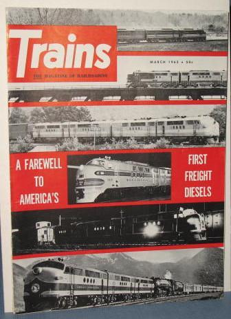 Trains : The Magazine of Railroading, March 1962