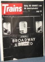Trains : The Magazine of Railroading, February 1962