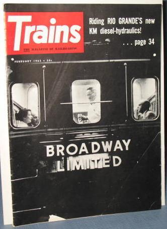 Trains : The Magazine of Railroading, February 1962