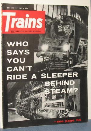 Trains : The Magazine of Railroading, December 1961