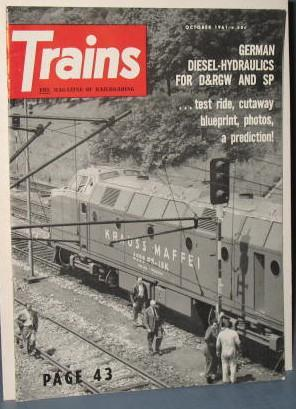 Trains : The Magazine of Railroading, October 1961