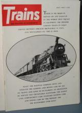 Trains : The Magazine of Railroading, July 1961