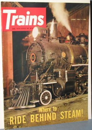 Trains : The Magazine of Railroading, June 1961