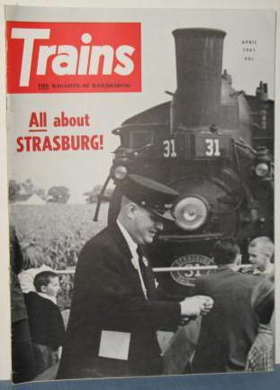 Trains : The Magazine of Railroading, April 1961