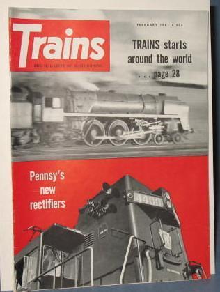 Trains : The Magazine of Railroading, February 1961