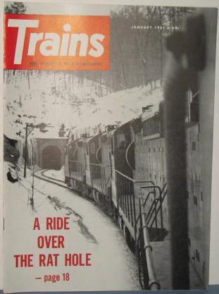 Trains : The Magazine of Railroading, January 1961