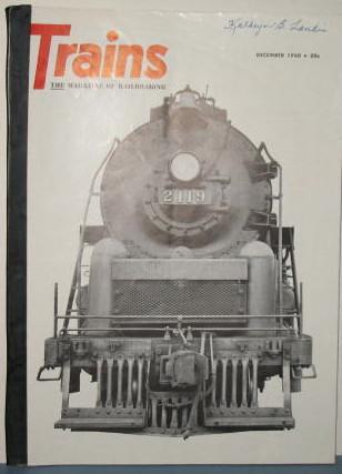 Trains : The Magazine of Railroading, Decmber 1960