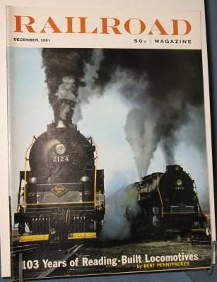 Railroad Magazine, December 1961