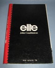 Elite Models Book from John Casablancas, May-August 1979