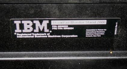 IBM ThinkPad Monitor Stand 2000