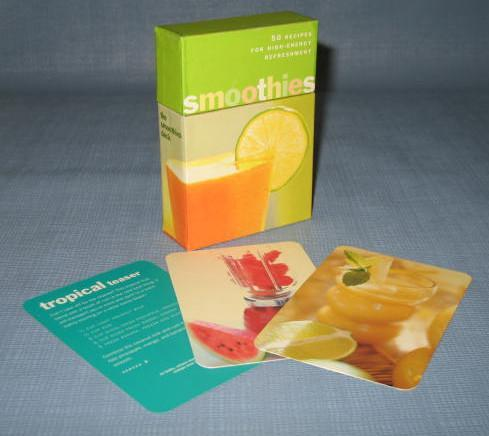 The Smoothies Deck - boxed recipe cards