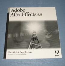Adobe After Effects 5.5 User Guide Supplement