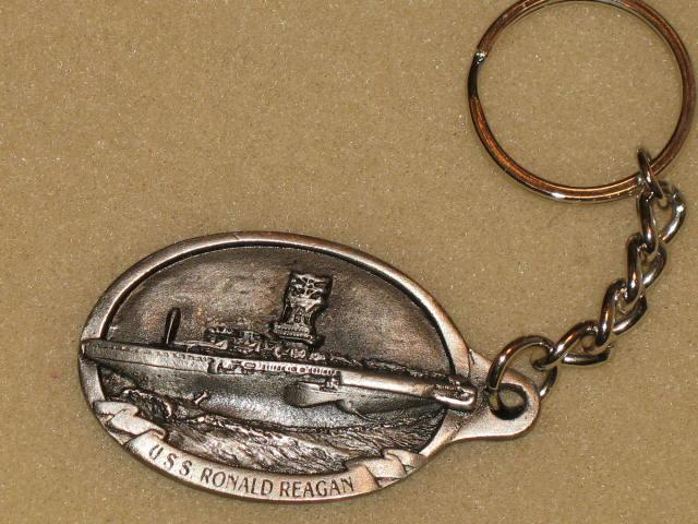 U.S.S. Ronald Reagan CVN-76 key chain