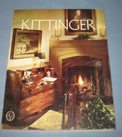 Kittinger : A Library of 18th Century English and American Designs furniture catalog