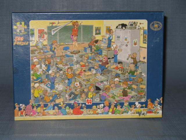 Jumbo International Jan Van Haasteren Find the Mouse 500 piece jigsaw puzzle No. 00448