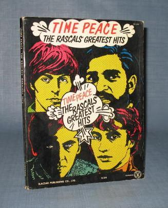 Time Peace : The Rascals' Greatest Hits song book