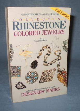 Collecting Rhinestone Colored Jewelry, Second Edition by Maryanne Dolan