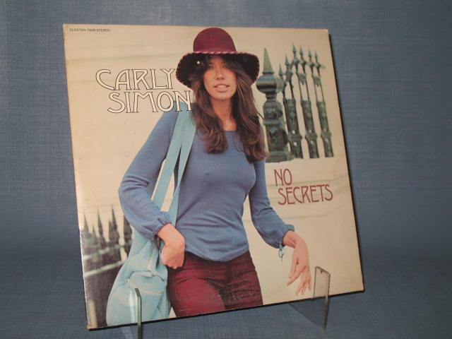 Carly Simon : No Secrets 33 RPM Stereo Record Album