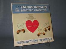The Harmonicats : Selected Favorites 33 RPM High Fidelity Record Album