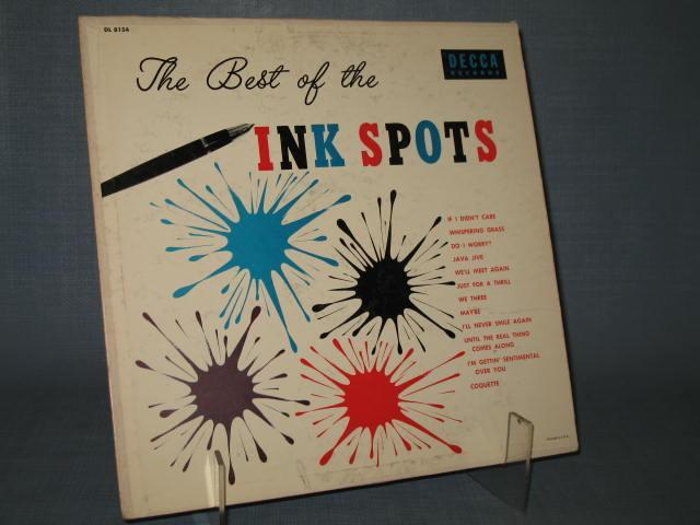 The Best of the Ink Spots 33 RPM Mono Record Album