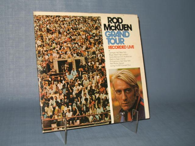 Rod McKuen Grand Tour Recorded Live 33 RPM Stereo Record Album