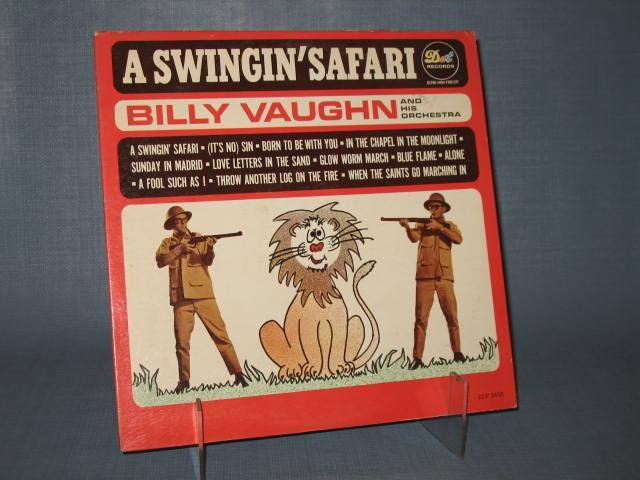 Billy Vaughn : A Swingin' Safari 33 RPM Ultra High Fidelity Record Album