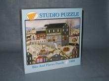 Bits and Pieces Puzzle : A Day at the Mill studio puzzle; 1000 piece puzzle