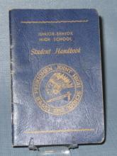 Upper Perkiomen Joint High School Junior-Senior High School Student Handbook - blue cover
