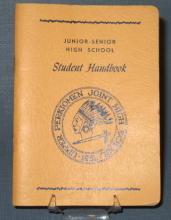 Upper Perkiomen Joint High School Junior-Senior High School Student Handbook - yellow cover