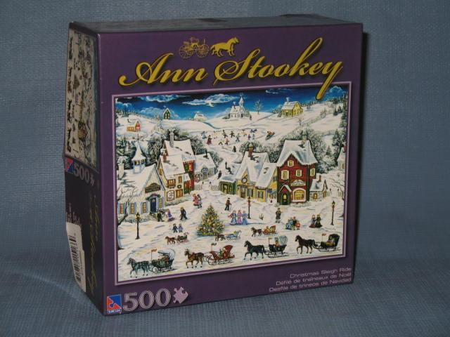 Sure-Lox Ann Stookey Christmas Sleigh Ride 500 piece puzzle