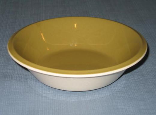 Mikasa Accent Avocado Green D0400 coupe soup bowl