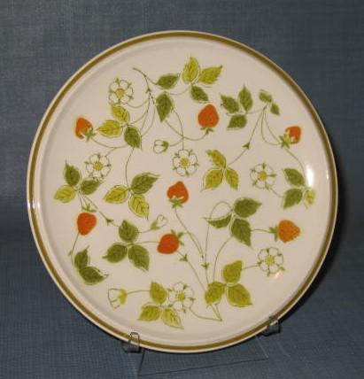 Mikasa Strawberry Hill salad plate