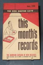 This Month's Records, June, 1956 from the Harrison Catalog of New Releases